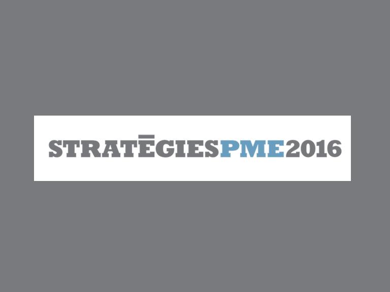 Strategie PME 2016 Event at Palais des Congrès