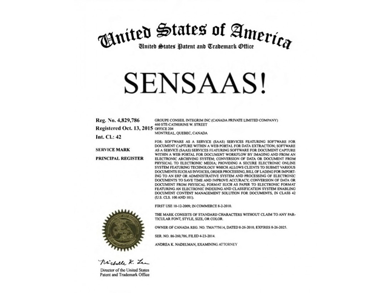 SenSaaS makes its way into the US!