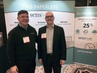 SenSaaS at the largest AP automation trade show